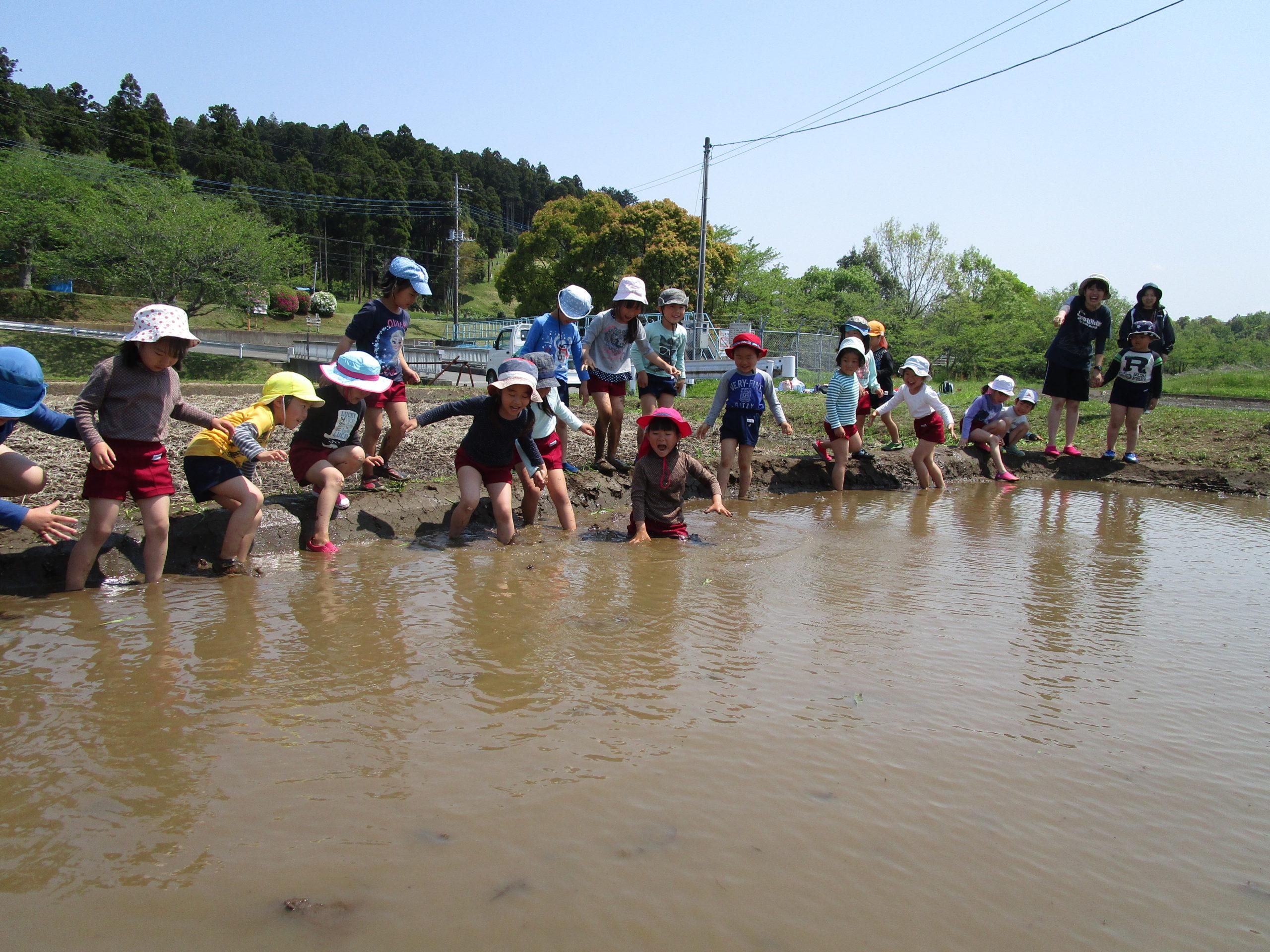 泥んこ遊びの日